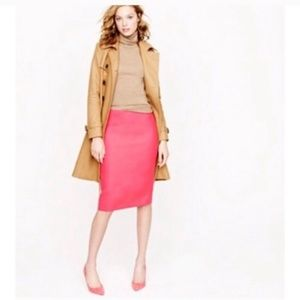 J. Crew | NWT Hot Pink No. 2 Pencil Skirt